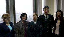 Посета војних психолога из Словеније